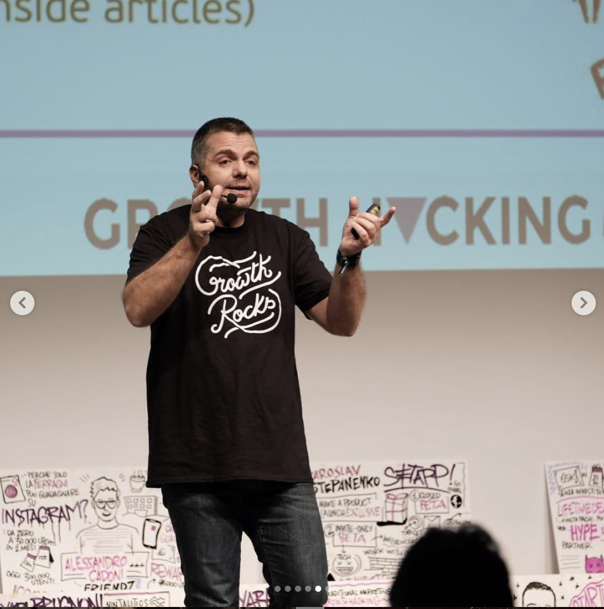 Speaking in GH-Day Italy