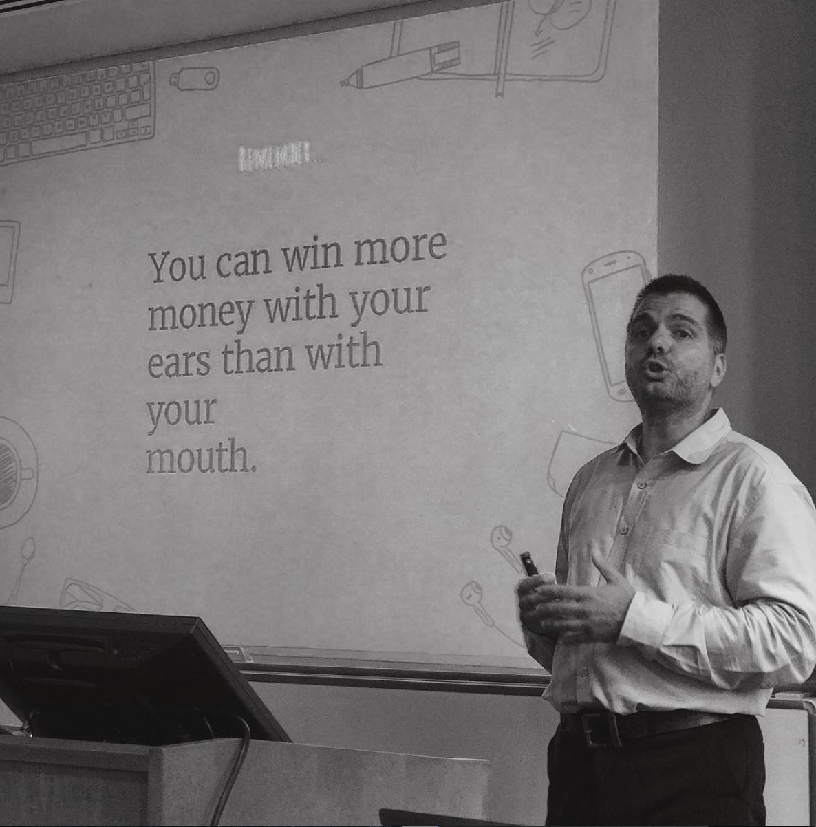 Lecturing in NYU - Executive MBA